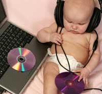 terapi musik bayi